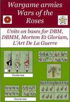 Wargame units : Wars of the Roses (DBM bases)