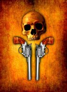 RPS Cards: Skull and Revolvers