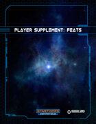Player Supplement: Feats (Starfinder)