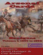 Arsenal Cards: Handguns Volume 1: 1850 to 1899