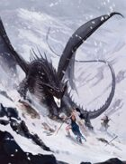 Art Stock Black Dragon