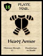 5e Armor Cards