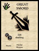 5e Arms Cards