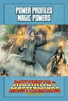 Mutants & Masterminds Power Profile #12: Magic Powers