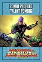 Mutants & Masterminds Power Profile #16: Talent Powers