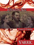 Dragon Age Faces of Thedas: Varric