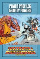 Mutants & Masterminds Power Profile #20: Gravity Powers