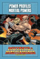 Mutants & Masterminds Power Profile #33: Martial Powers