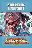 Mutants & Masterminds Power Profile #36: Death Powers