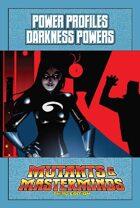 Mutants & Masterminds Power Profile #38: Darkness Powers