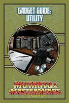 Mutants & Masterminds Gadget Guide: Utility