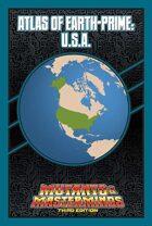 Mutants & Masterminds Atlas of Earth-Prime: U.S.A.