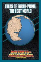 Mutants & Masterminds Atlas of Earth-Prime: The Lost World