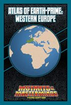 Mutants & Masterminds Atlas of Earth-Prime: Western Europe