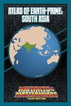 Mutants & Masterminds Atlas of Earth-Prime: South Asia