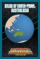 Mutants & Masterminds Atlas of Earth-Prime: Australasia