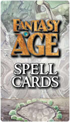 Fantasy AGE Spell Cards