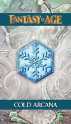 Fantasy AGE Spell Cards - Cold Arcana