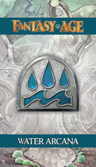 Fantasy AGE Spell Cards - Water Arcana