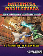 Astonishing Adventures - NetherWar 1: Assault on the Nerian Nexus