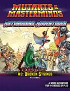 Astonishing Adventures - NetherWar 3: Broken Strings