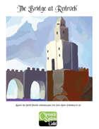 The Bridge at Redrock, a Sword Chronicle adventure