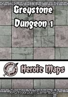 Heroic Maps: Greystone Dungeon 1
