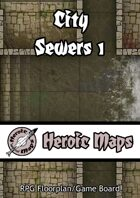Heroic Maps: City Sewers 1