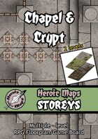 Heroic Maps - Storeys: Chapel & Crypt