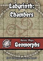 Heroic Maps - Geomorphs: Labyrinth Chambers