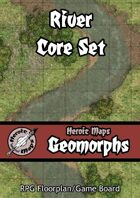 Heroic Maps - Geomorphs: Rivers Core Set