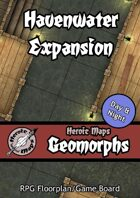 Heroic Maps - Geomorphs: Havenwater Expansion