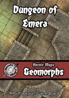 Heroic Maps - Geomorphs: Dungeon of Emera