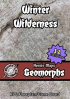 Heroic Maps - Geomorphs: Winter Wilderness