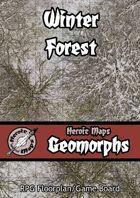 Heroic Maps - Geomorphs: Winter Forest