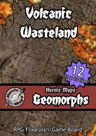 Heroic Maps - Geomorphs: Volcanic Wasteland