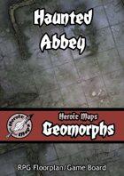 Heroic Maps - Geomorphs: Haunted Abbey