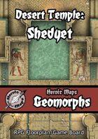 Heroic Maps - Geomorphs: Desert Temple Shedyet