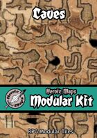 Heroic Maps - Modular Kit: Caves