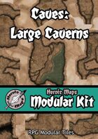 Heroic Maps - Modular Kit: Caves - Large Caverns