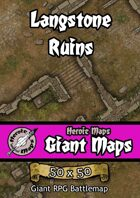 Heroic Maps - Giant Maps: Langstone Ruins