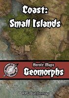 Heroic Maps - Geomorphs: Coast - Small Islands