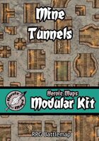 Heroic Maps - Modular Kit: Mine Tunnels