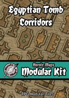 Heroic Maps - Modular Kit: Egyptian Tomb Corridors