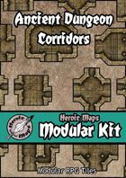 Heroic Maps - Modular Kit: Ancient Dungeon Corridors