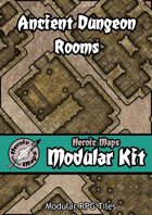 Heroic Maps - Modular Kit: Ancient Dungeon Rooms