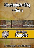 Heroic Maps - Wardenhale City Set 1 [BUNDLE]
