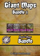 Heroic Maps - Giant Maps Set 1 [BUNDLE]