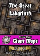 Heroic Maps - Giant Maps: The Great Labyrinth