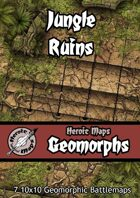 Heroic Maps - Geomorphs: Jungle Ruins